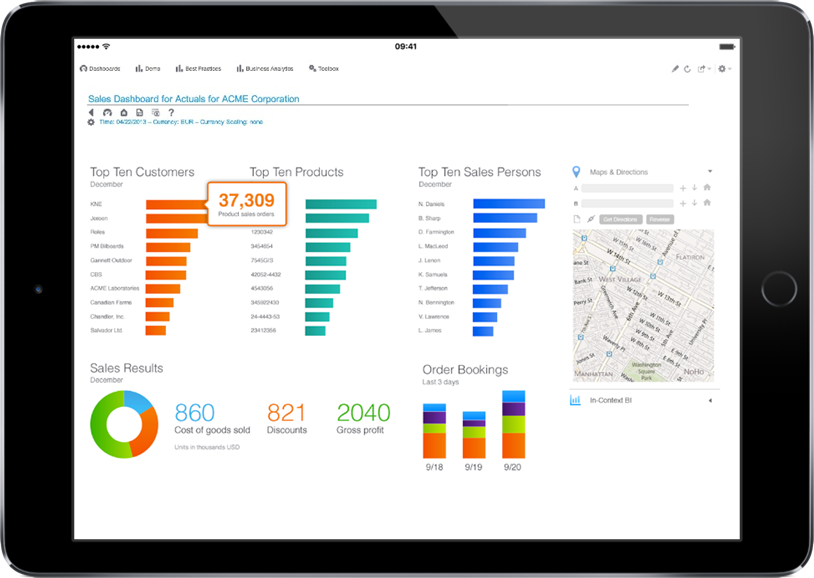 SunSystems Dynamic Reporting