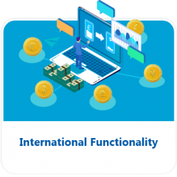 International Functionality Button