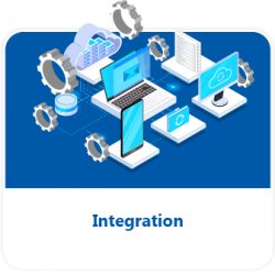 Integration button